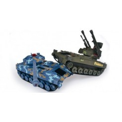 Double Eagle 1:24 RC tank 27MHz (2 tanks)