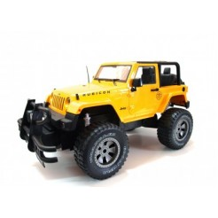 Double Eagle 1:9 RC Jeep Wrangler (geel)