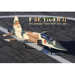 F-5E Camo 70mm 5CH EDF Straaljager met Retracts 2.4GHz