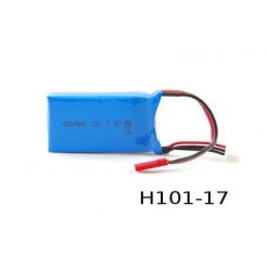 Hubsan 7.4V 650mAh 15C LiPo batterij voor Hubsan Lynx And Invader RC Helicopters
