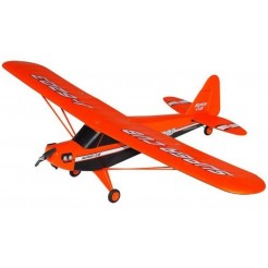 Joysway Super CUB Orange 4CH RC zweefvliegtuig 2.4GHz RTF