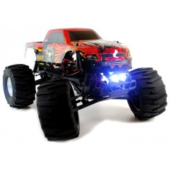 Circuit Thrash 1:9 2WD RC Monster Truck met LED verlichting Brushless 2.4Ghz