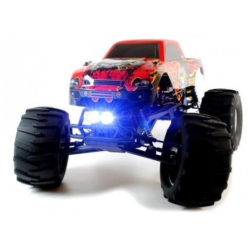Circuit Thrash 1:9 2WD RC Monster Truck met LED verlichting ...