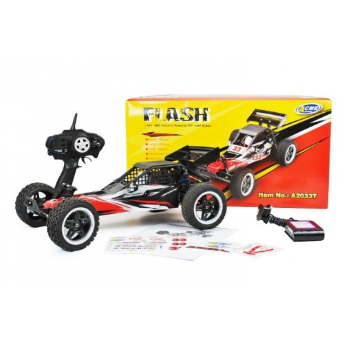 Beste Dune Buggy 1:8 2WD RC auto met LED verlichting Brushless 2.4Ghz AB-66