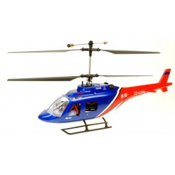 Dynam Jet Ranger 370 4CH Twin Blade RC helicopter RTF 2.4Ghz