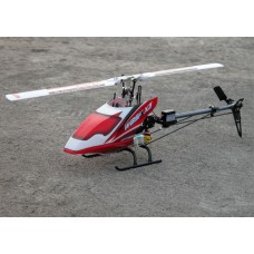 WASP X3V Flybarless 6CH RC helicopter RTF 2.4Ghz (Carbon & Metaal)