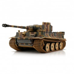 Torro 1:16 RC Tiger I Early Vers. camo BB RC tank