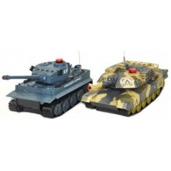 UF set van 1:24 German en Abram RC tanks RTR