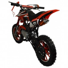 Zipper 50cc Petrol Mini Kids Dirt Motorbike Red