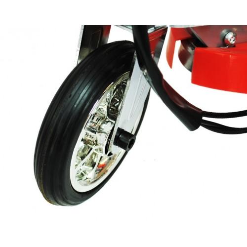 Zipper micro scooter 120W met led verlichting dek rood ...