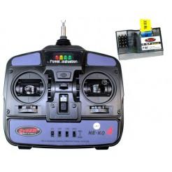 4CH Transmitter 35Mhz Mode 2