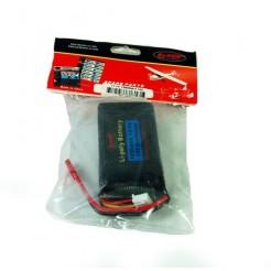 LiPo batterij 11.1V 1250mAh 10C 7x2x3.5