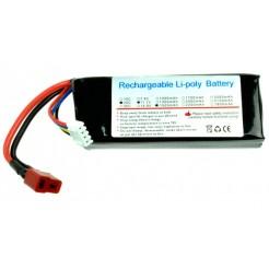 LiPo batterij 11.1V 1500mAh 105x30x15