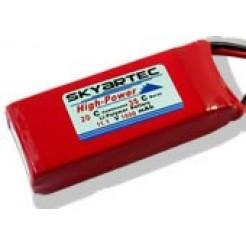 LiPo batterij 11.1V 1600mAh 20C voor Ninja 400