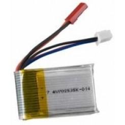 LiPo batterij 3.7V 1000mAh 50x30x8