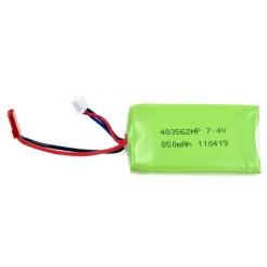 LiPo batterij 7.4V 850mAh voor RC Helicopter